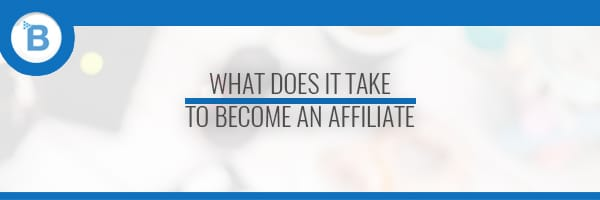 becoming an affiliate header