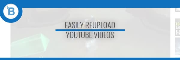 duplicate youtube video header