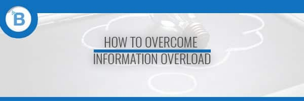 Information Overload header