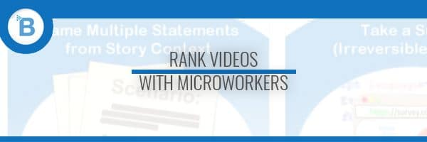 youtube ranking microworkers header