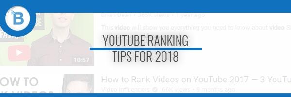youtube ranking header