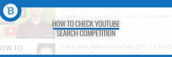 youtube search competition