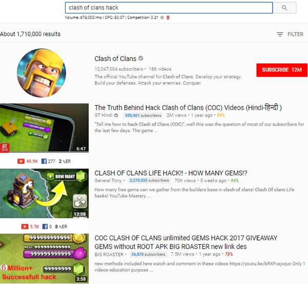 YouTube Search Competition(Easy, Simple Guide) - Bluify